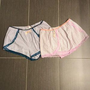 Pair of Victoria's Secret sleep shorts